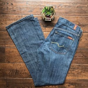 7 for all Mankind bootcut jeans Eastside Dark Wash